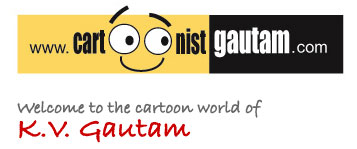 Cartoonist New Delhi India
